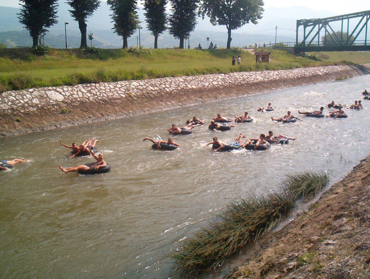 Sutra rafting Nišavom