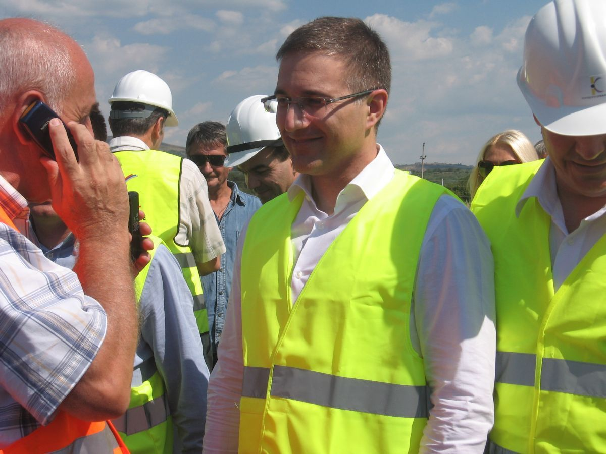 Predsednik Skupštine Srbije obišao radove na Koridoru