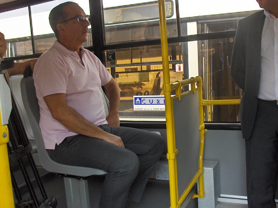 Gradonačelnik u gradskom prevozu