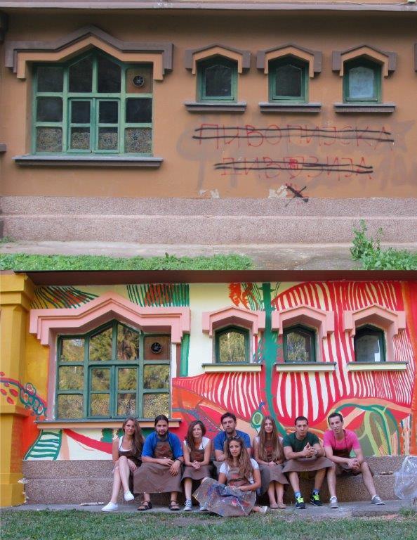 Završen mural na Dečijem centru