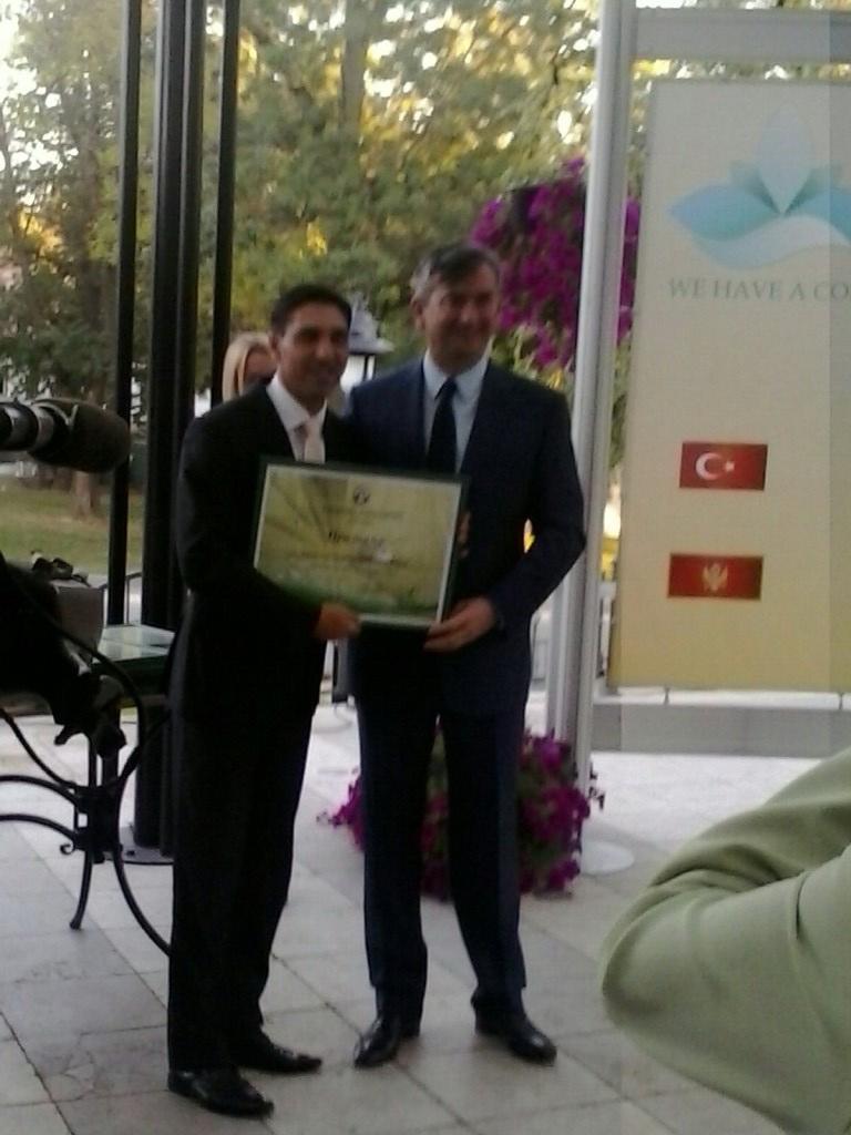 Priznanje Niškoj Banji na Trećem samitu banja Balkana