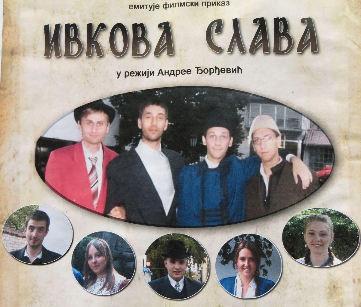 """Mladi uradili filmski prikaz """"Ivkove slave"""""""