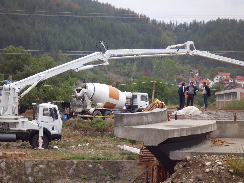 Pri kraju gradnja mosta u Bosilegradu