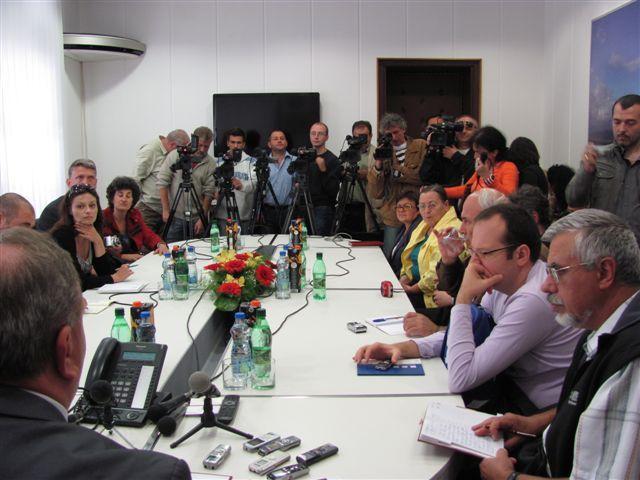 Bugarski novinari kod gradonačelnika