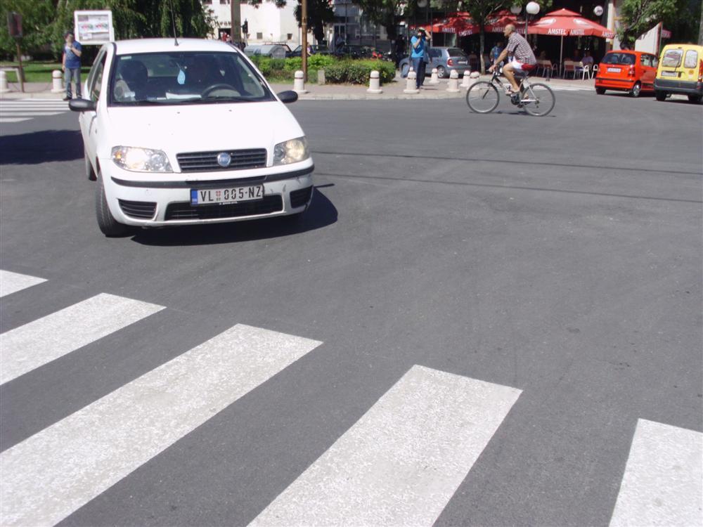 Sredjivanje ulica u Vlasotincu