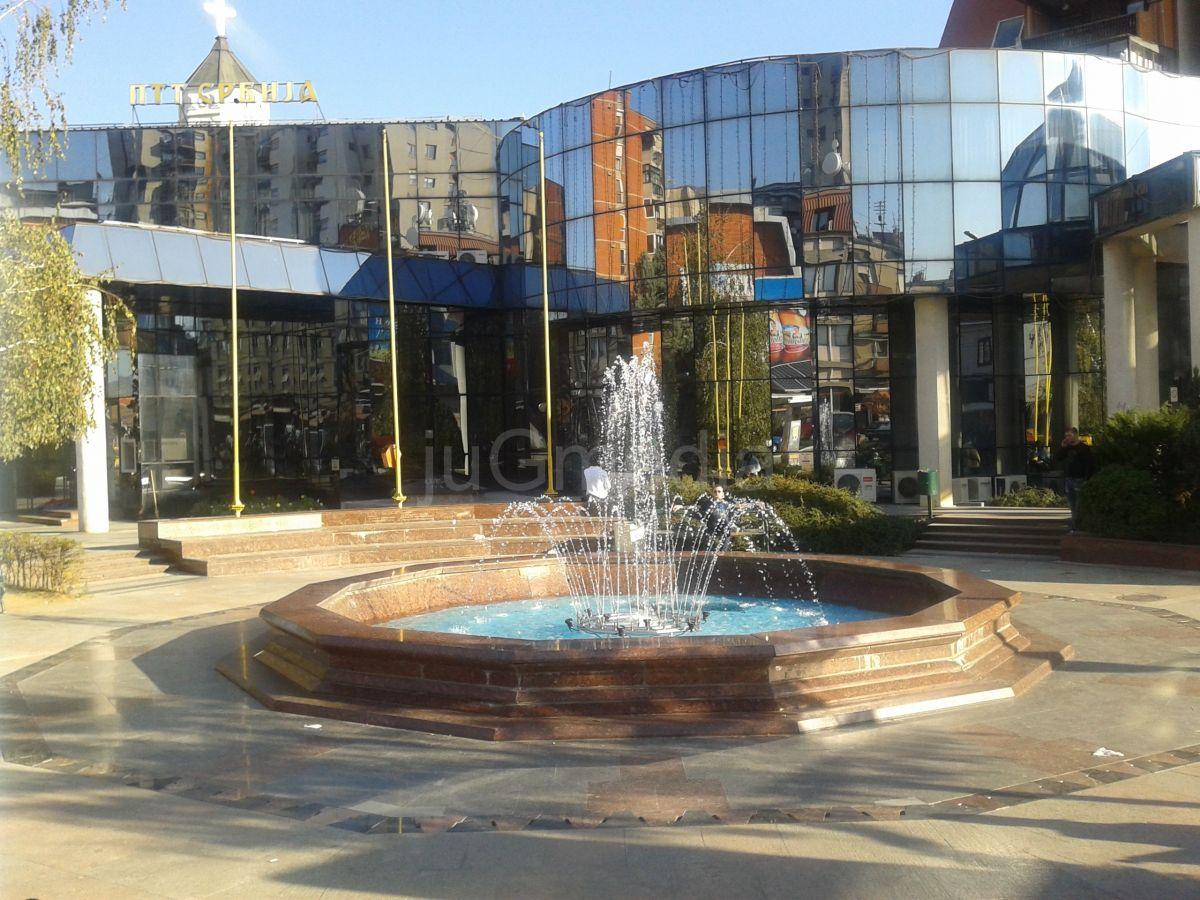 Ponovo radi fontana ispred Pošte