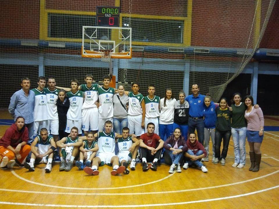 Actavis Akademija u Kadetskoj ligi Srbije