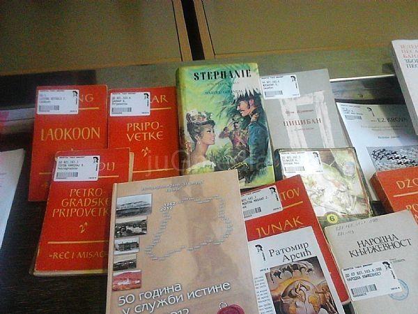 Poklon sa sajma za biblioteku u Surdulici