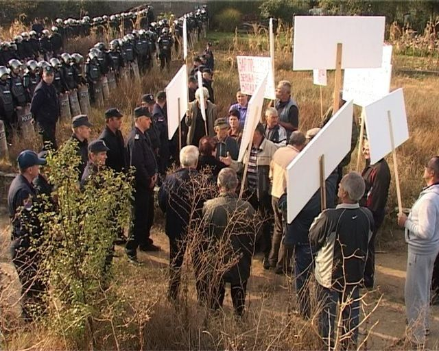 Žandarmerija i policija sprečile proteste kod Grdelice