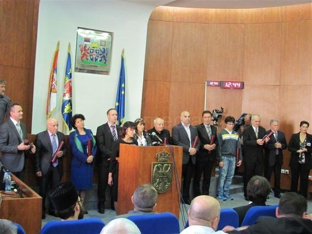 Dobitnici oktobarskih nagrada u Leskovcu