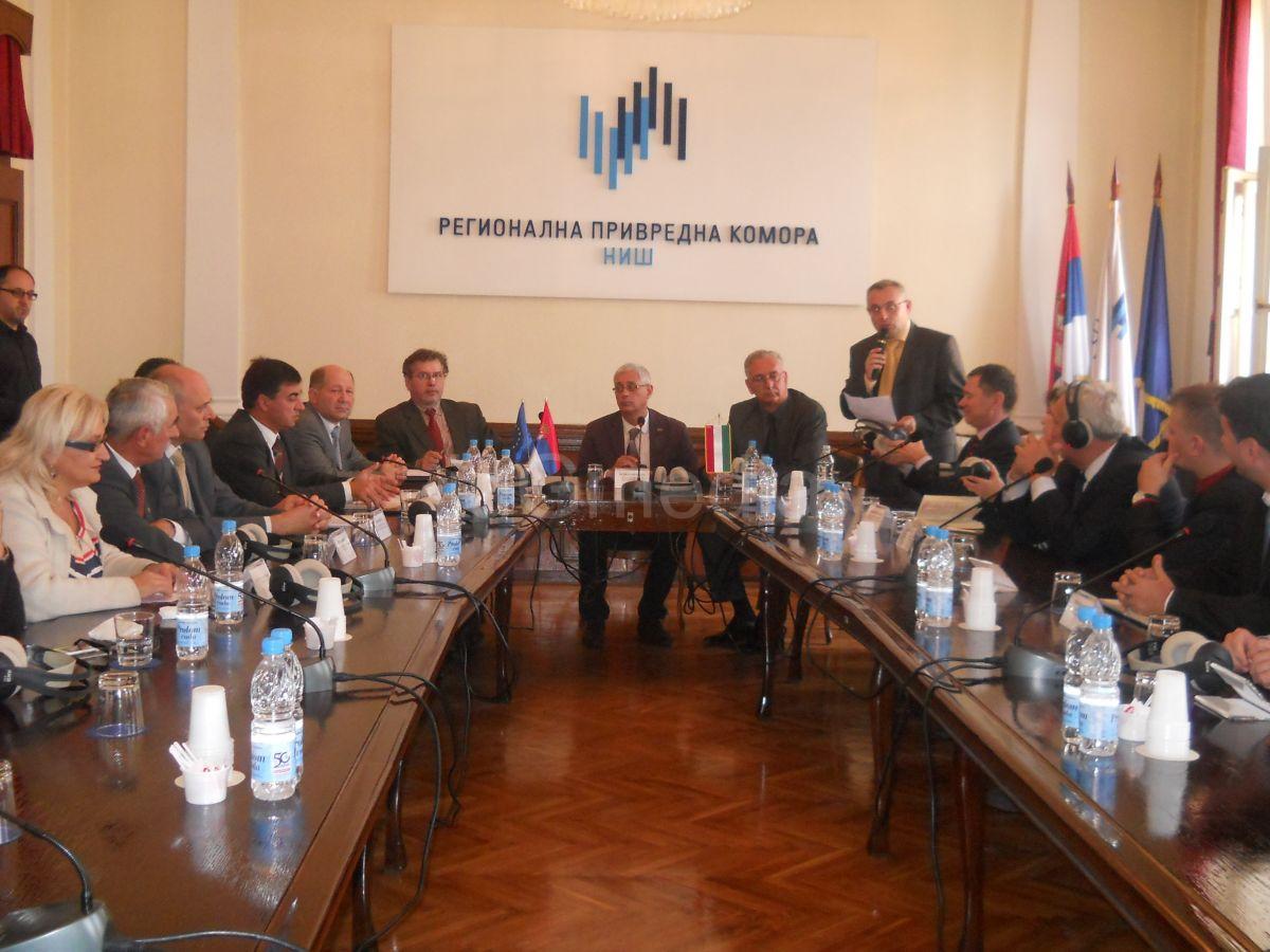 Mađarski privrednici zainteresovani za investiranje u Nišu