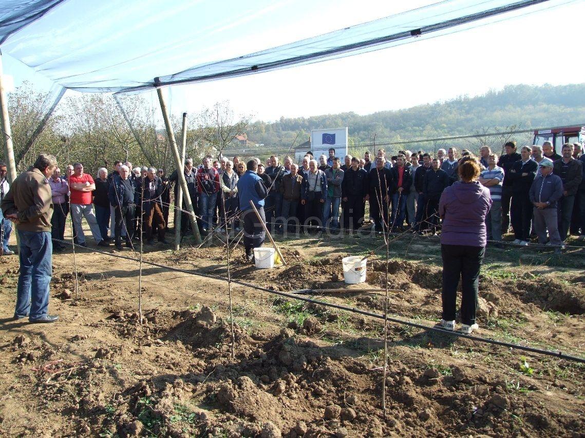 Obuka za poljoprivrednike iz Pčinjskog okruga