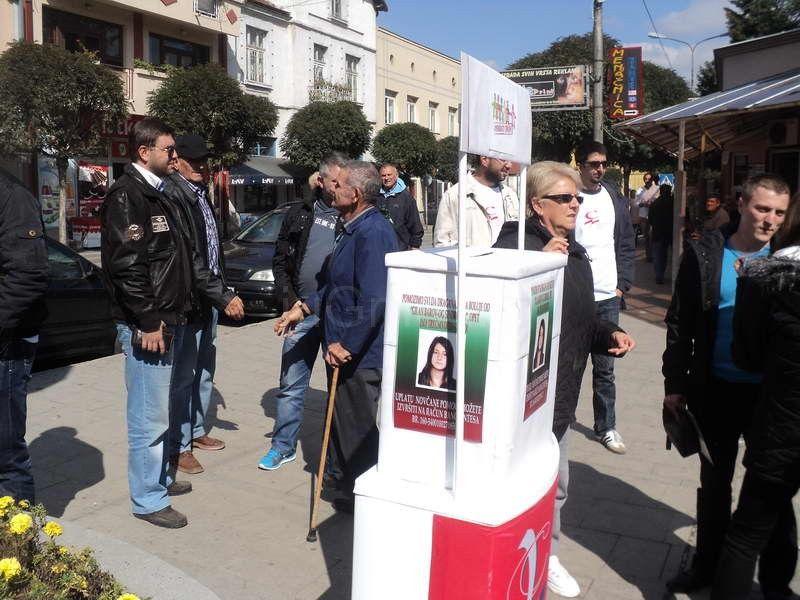 Socijalisti iz Vladičinog Hana organizovali prikupljanje pomoći za Draganu Cvetković