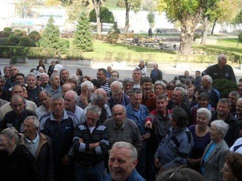 """Radnici """"Građevinara"""" i Elektronske ponovo protestovali"""