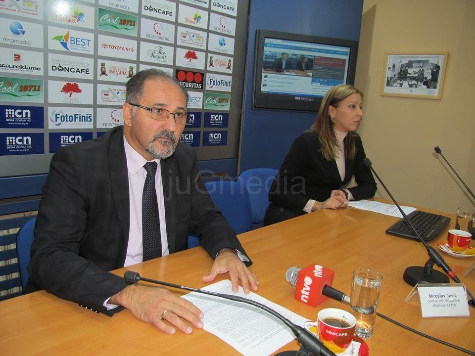 Koalicija za Niš traži vodoprivredno preduzeće za jug Srbije
