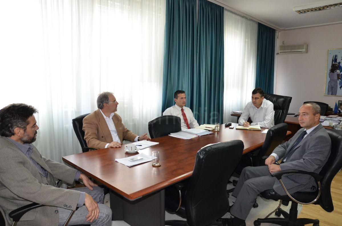 Sastanak predsednika opštine sa novim direktorima