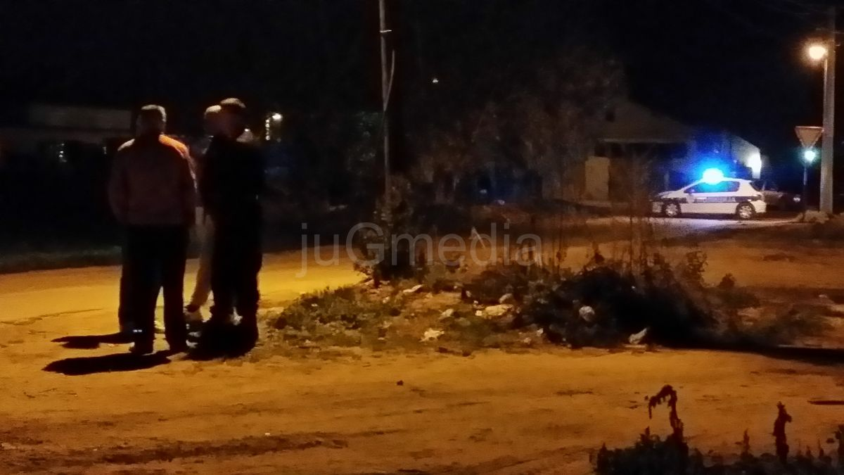 Povređen policajac u Velikom Trnovcu