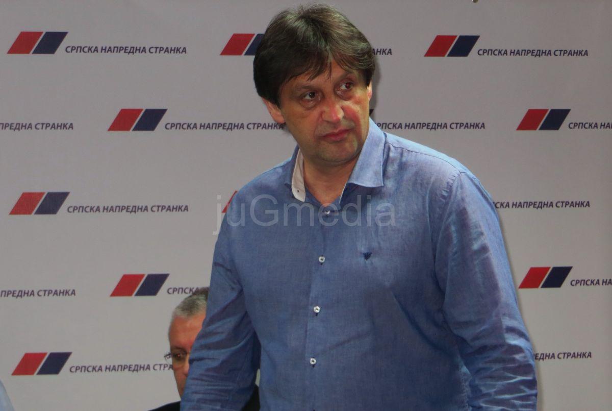 Bratislav Gašić večeras će u Vranju saopštiti ime poverenika SNS -a