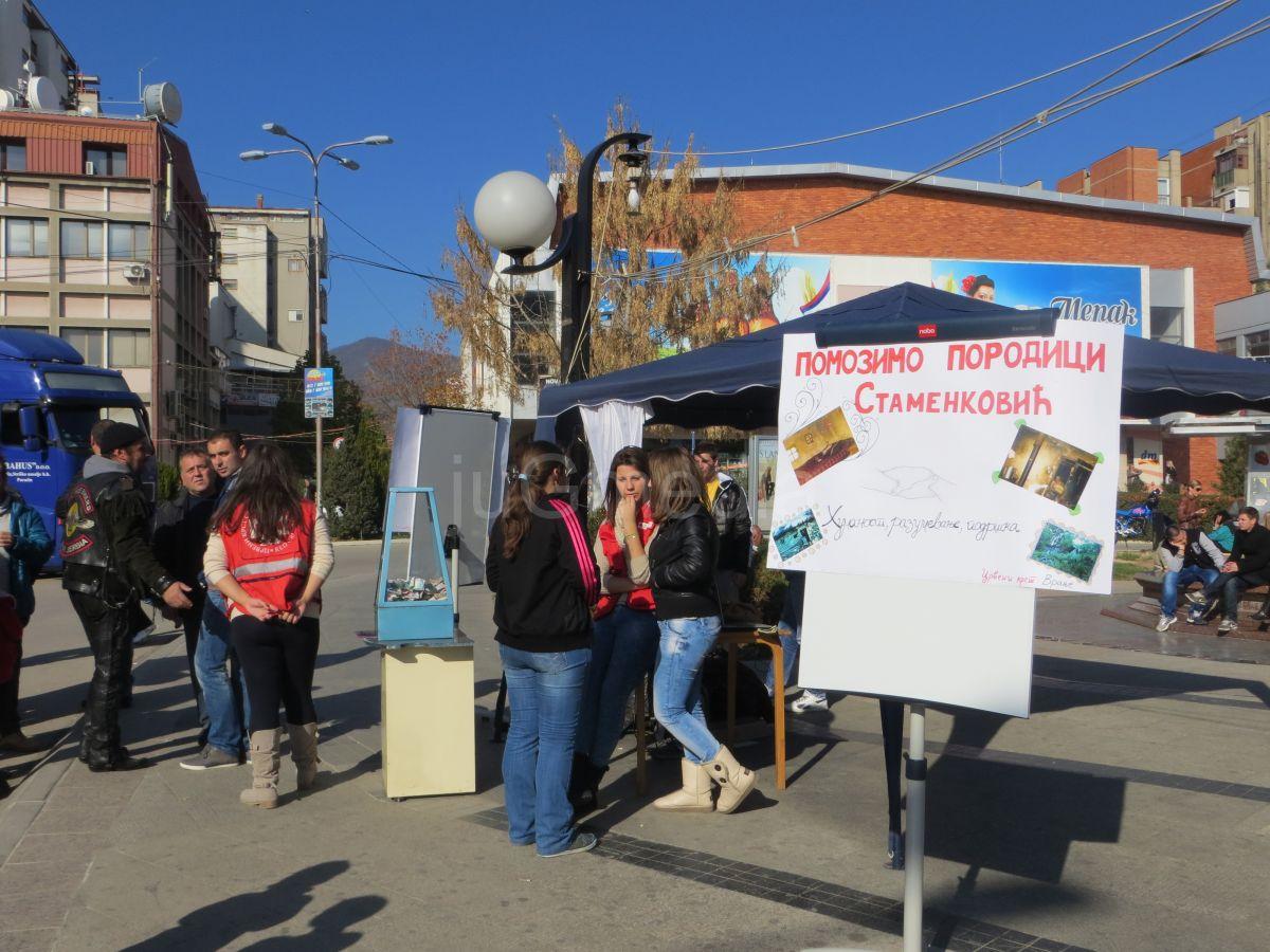 Humana akcija bajkera i volontera Crvenog krsta