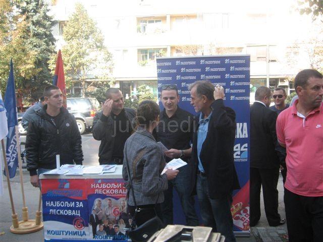 DSS: Izlazak na kosovske izbore, izlazak iz Srbije