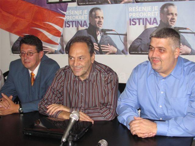 LDP i istaknuti članovi DS u stranci Borisa Tadića