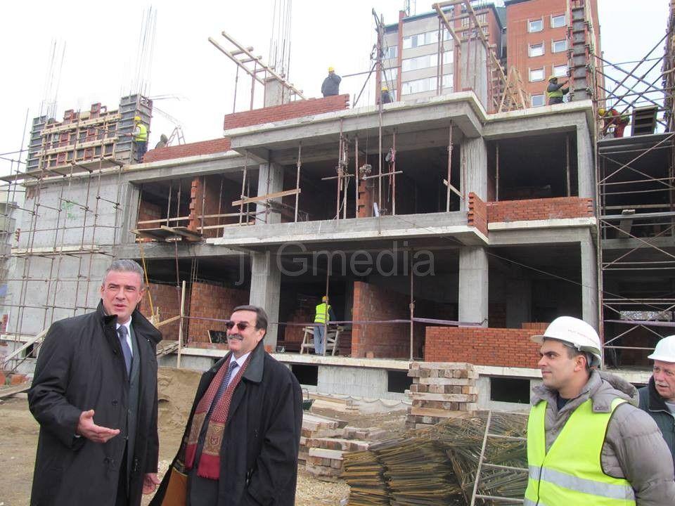 Nastavljena izgradnja Studentskog doma