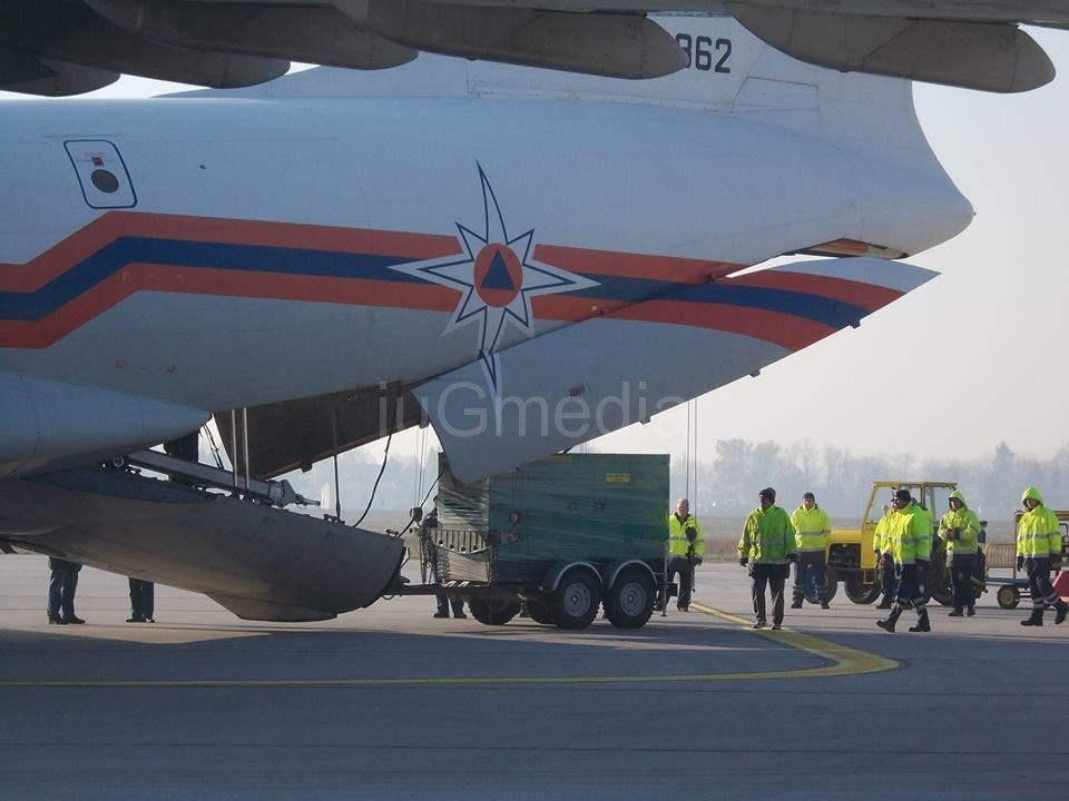 Ruska pomoć za humanitarni centar