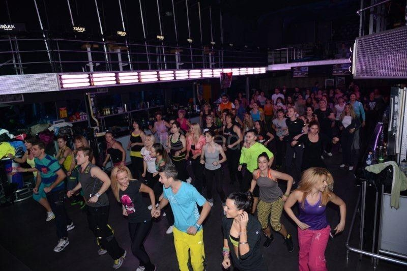 ZUMBA® FITNESS PARTY čas u klubu Spark