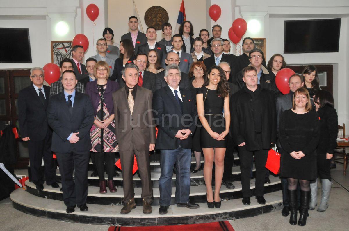 Dodeljene Konstantinove stipendije i priznanja