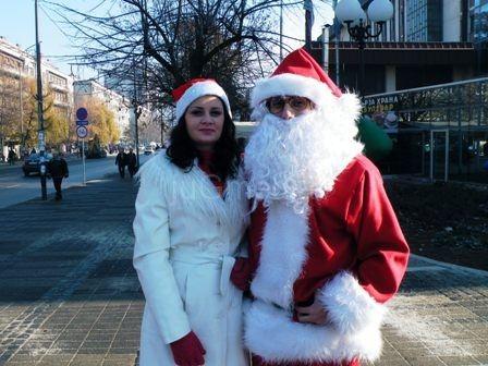 Deda Mraz i Nova Godina već stigli u Leskovac