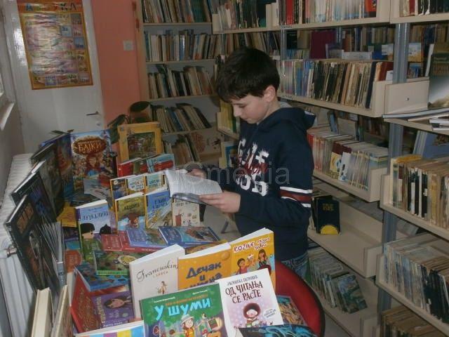 Novi naslovi na Dečijem odeljenju biblioteke