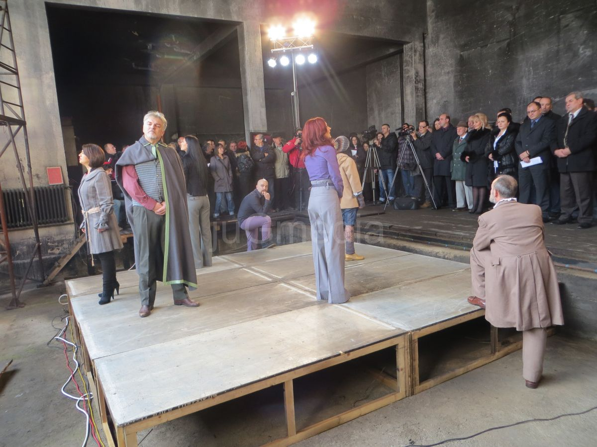 Počeli radovi na obnovi pozorišta u Vranju