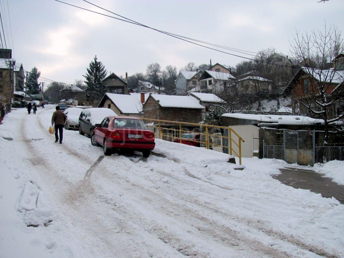 Opština Palilula: Sneg iznenadio komunalce