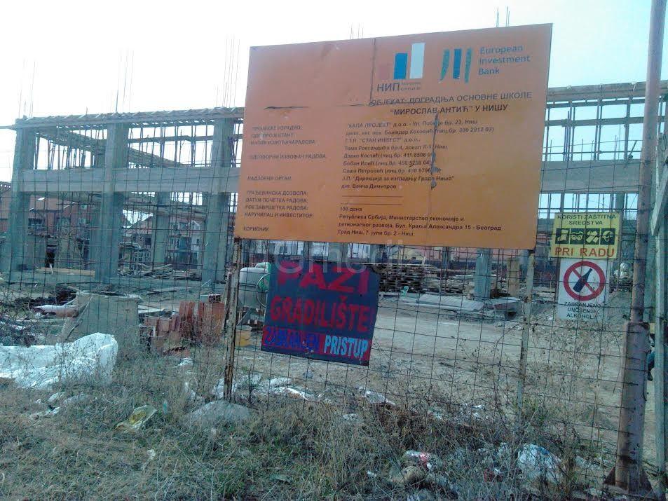 Jovanović: Izgradnja stala jer nema para iz budžeta