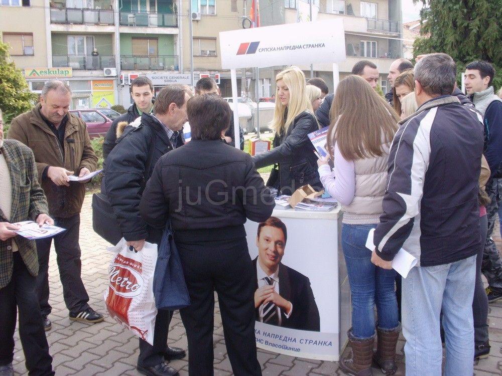 Vlasotinački SNS krenuo u kampanju