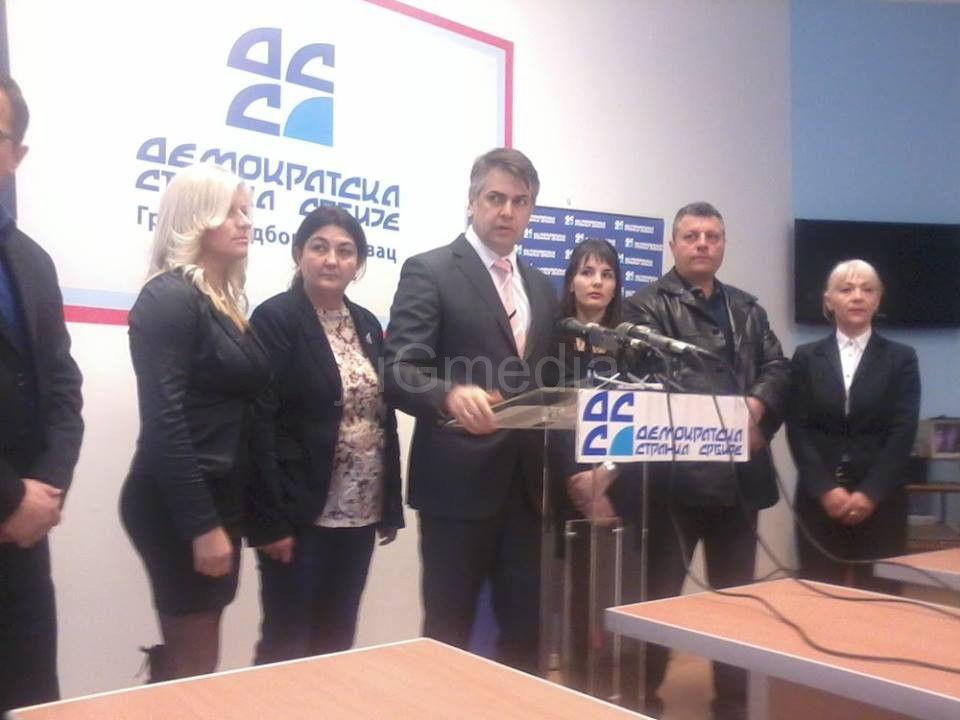 Aleksandar Pejčič 28. na listi DSS-a