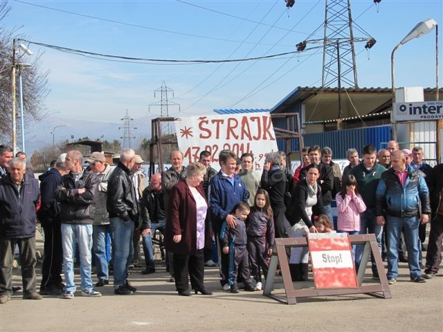 """Radnici """"Interleminda"""" zauzeli fabriku, traže milion evra"""