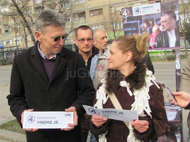 LDP u Leskovcu očekuje dobar rezultat