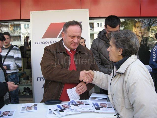 Goran Cvetanović promovisao rezultate SNS