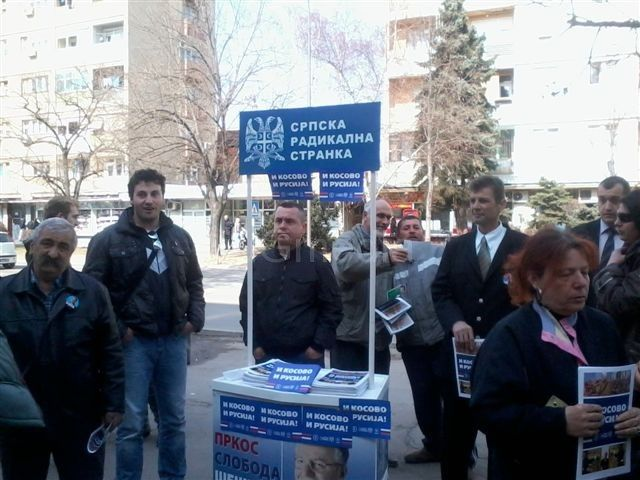 SRS o Kosovu i utamničenom lideru stranke