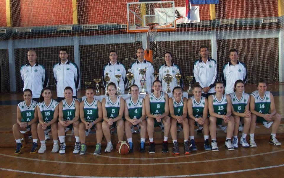 Kadetkinje Actavis Akademija zauzele je 5. mesto u Jadranskoj ligi