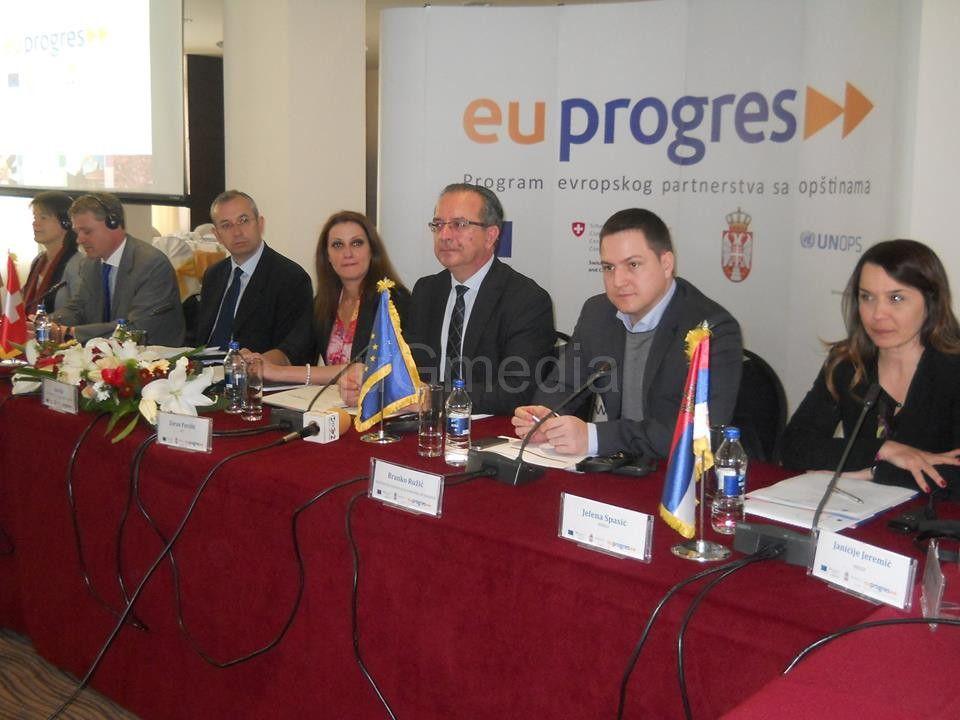 """""""EU progres"""" i dalje u Srbiji"""