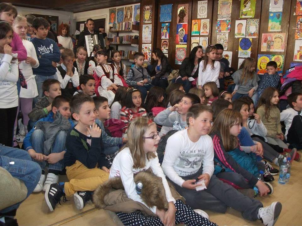 Nacionalni dan knjige na Dečijem odeljenju biblioteke