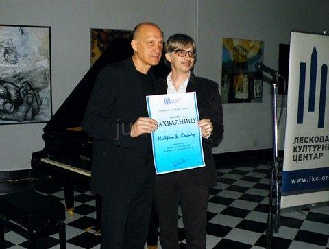 Nebojša Kocić poklonio svoj klavir LKC-u