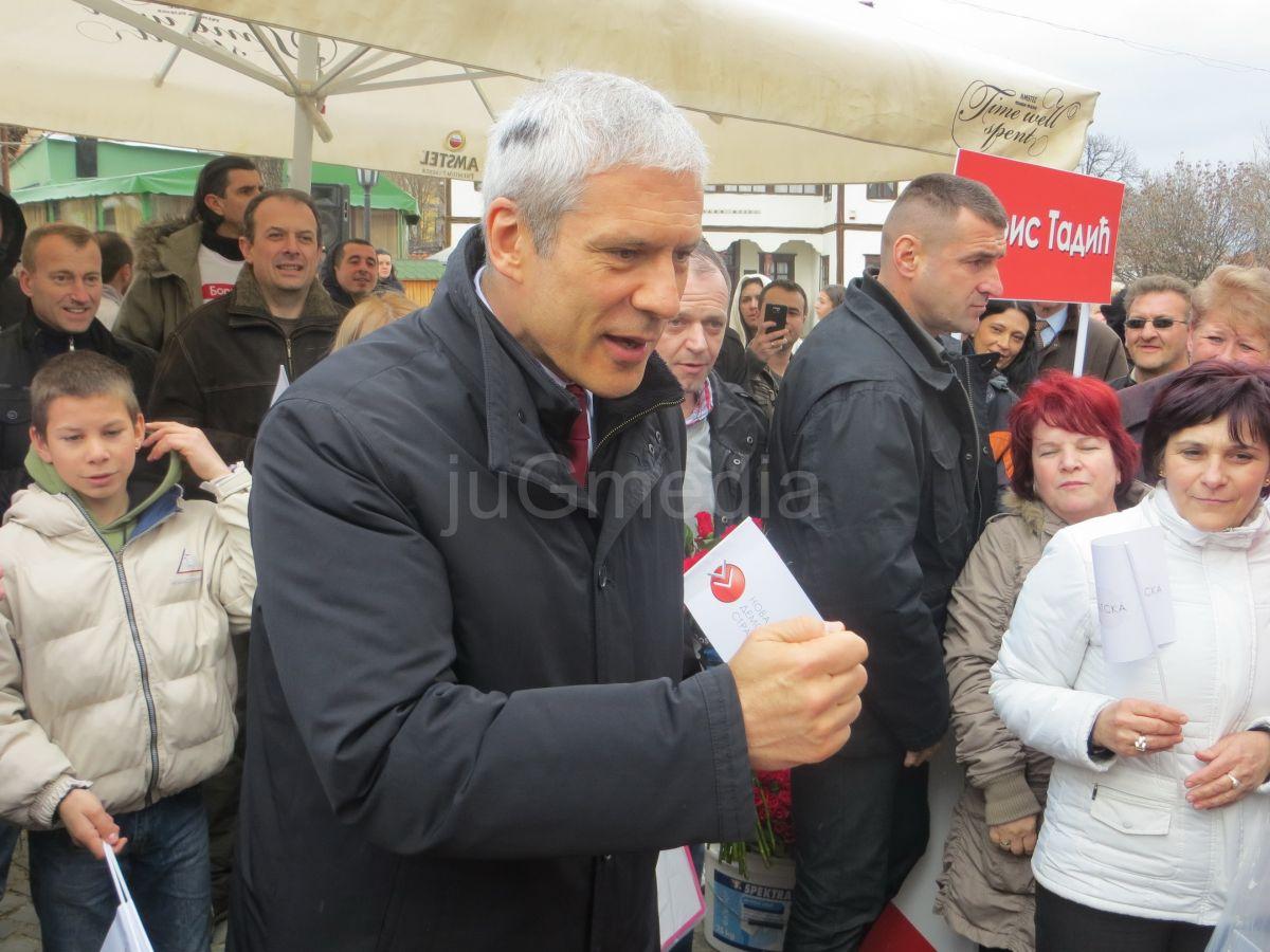 Boris Tadić:NDS se zalaže za Srbiju bez nasilja