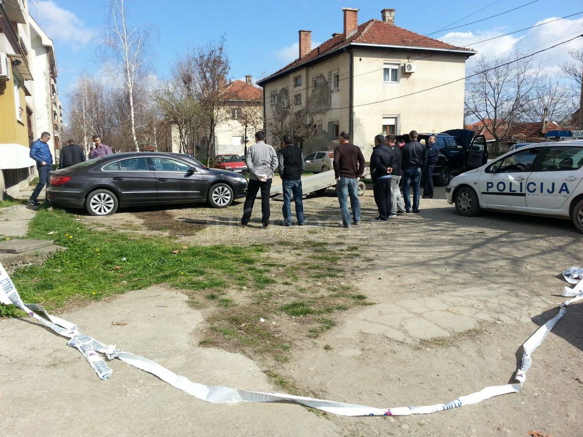 Eksplozija u Leskovcu oštetila tri automobila
