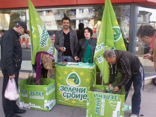 Zeleni delili Pančićeve omorike