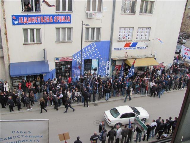 Dačića i Palmu u Leskovcu čekaju s trubačima