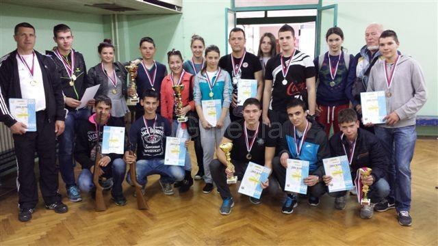 Učenici osvojili brojne nagrade u streljaštvu