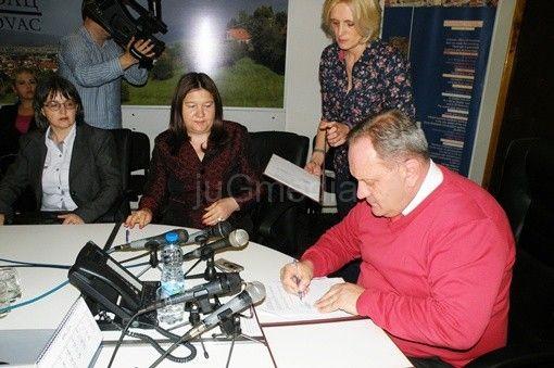 Potpisan sporazum o subvencionisanju zapošljavanja